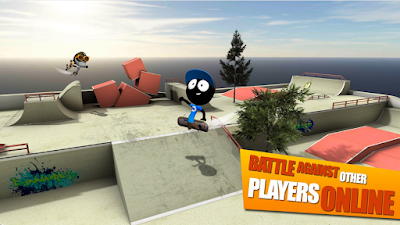 Download game stickman skate battle v.1.3 update