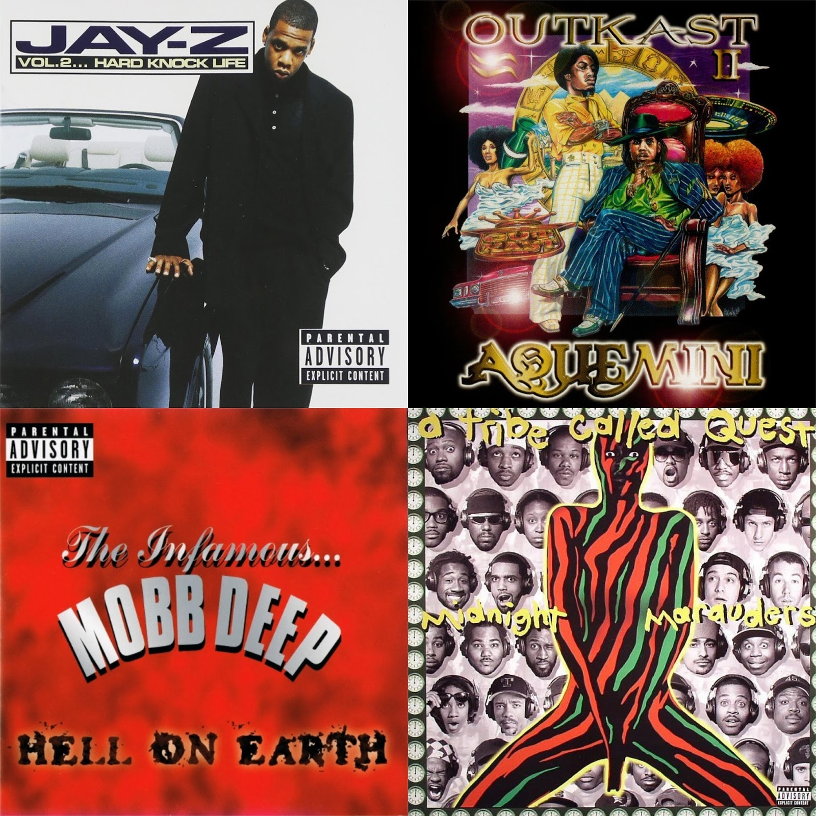 DAR Hip Hop: 6 Important Third Albums From The 90's