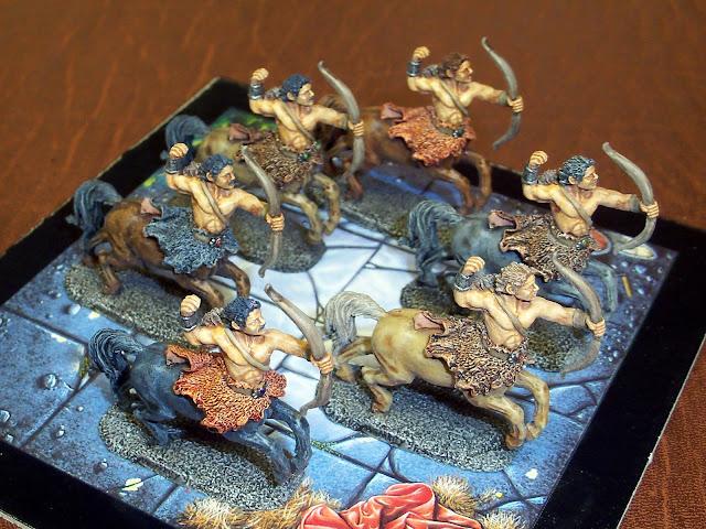 Reaper Argus Stronghoof centaurs painted