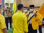 Alvian Indrawirawan Kembali Terpilih Sebagai Ketua DPD Golkar Kota Bima Periode 2021 - 2026