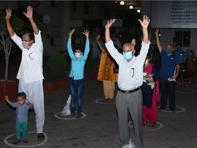 14 corona warriors return home in Bhopal
