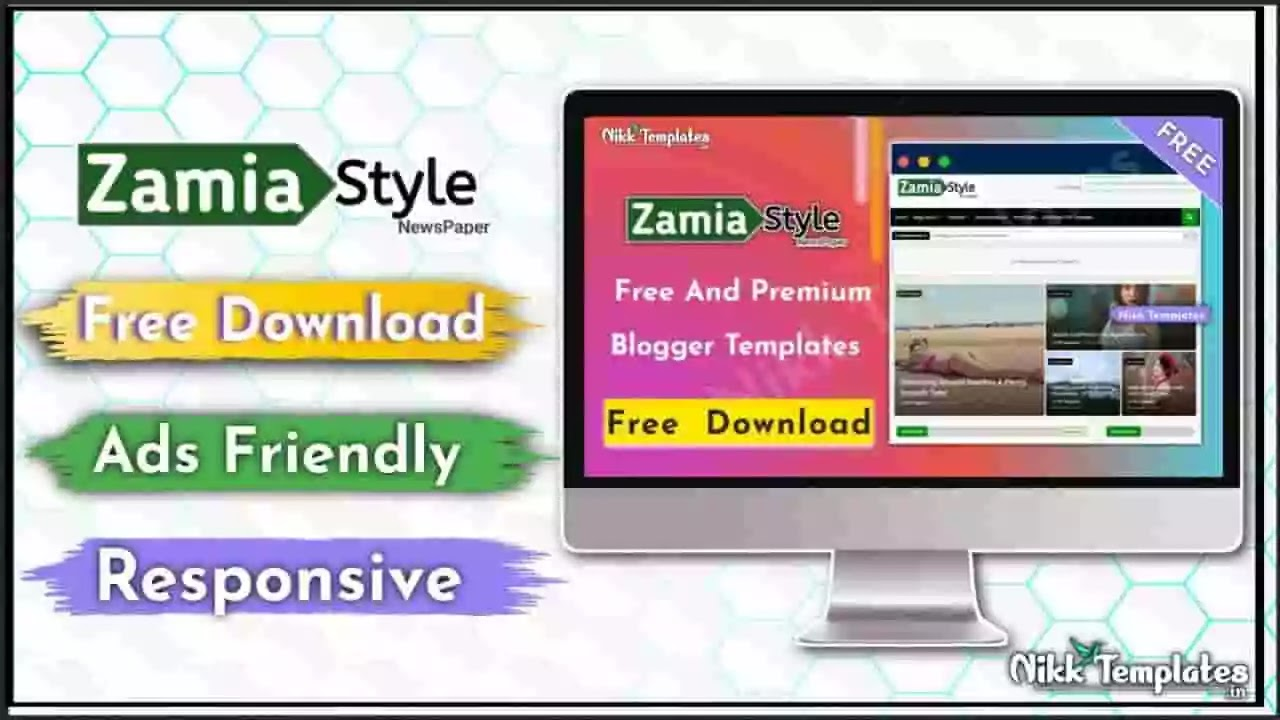 Zamia Style - Responsive Blogger Template - {Free Download}