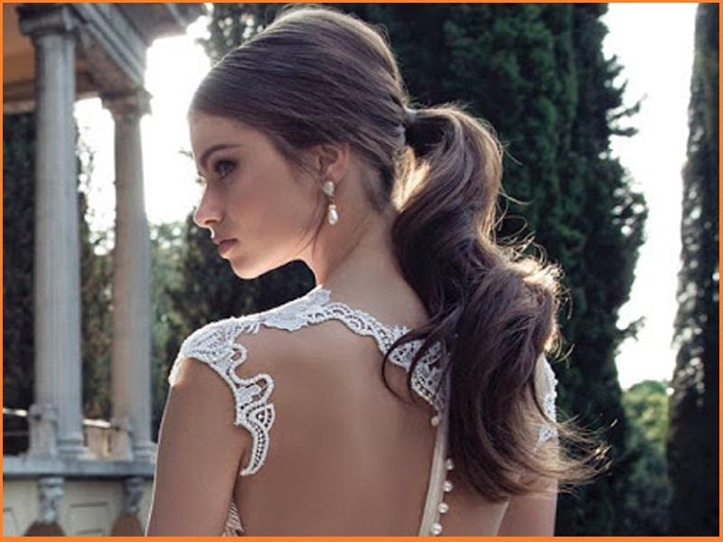 Ponytail Hairstyles Ideas For Simple Look On Feminine