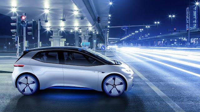 Coche conceptual Volkswagen I.D.