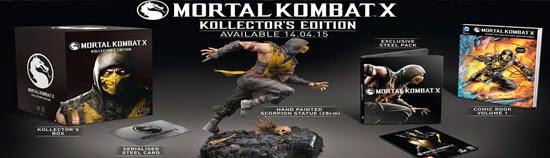 Mortal Kombat X - Kollectors edition
