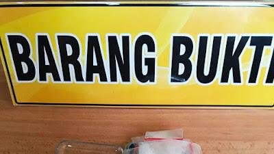 Sembunyikan Sabu di Lintingan Uang, Pria 26 Tahun Diciduk Satresnarkoba Polresta Tangerang