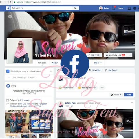 Tukar Cover Facebook Dengan Canva