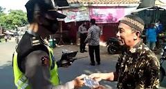 Operasi Yustisi Di Bandar,  Petugas Gabungan Imbau Warga Patuhi Prokes