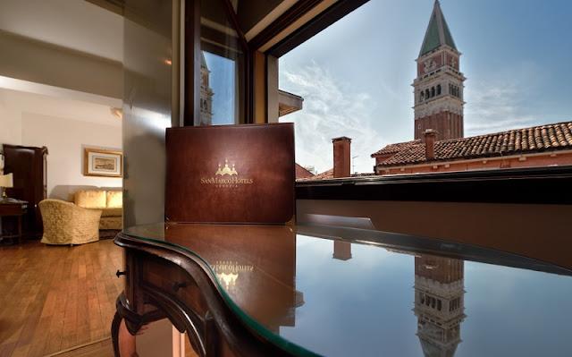Quarto com vista para o Campanário de San Marco