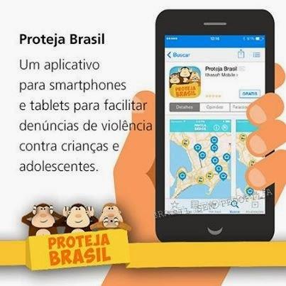 Proteja Brasil - app