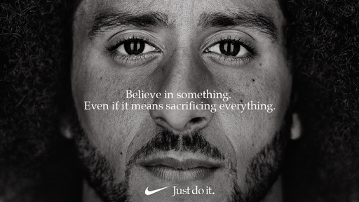 Controverial Marketing - Nike campaign featuring Colin Kaepernick