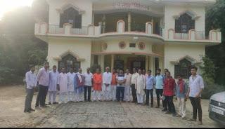 अखिल भारतीय ब्रााह्मण महासभा की हुई बैठक    #NayaSaberaNetwork