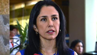 Nadine Heredia es incluida en investigación por el caso Club de la construcción