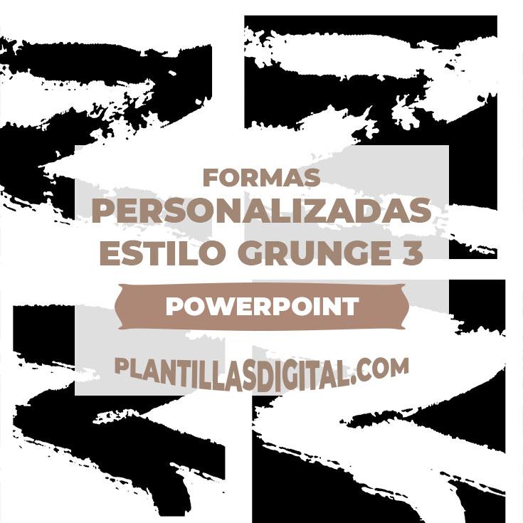 formas personalizadas estilo grunge 3 post