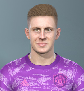 PES 2019 Faces Dean Henderson by Sofyan Andri