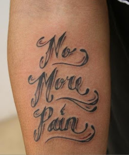 Cursive Tattoo Pictures no more pain
