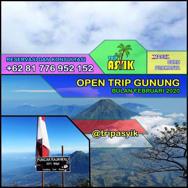 Open Trip Februari 2020 - Raung, Kerinci, Latimojong, Lawu, Merbabu, Sumbing, Sindoro, Argopuro