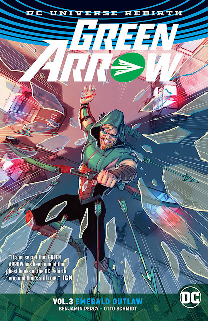 green arrow dc rebirth comics
