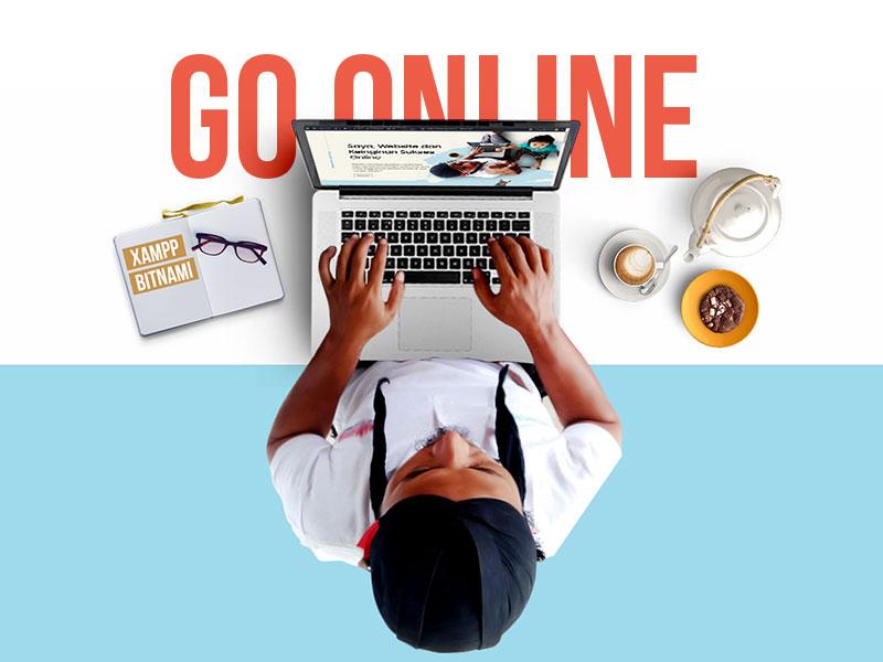Saya, Website dan Keinginan Sukses Online
