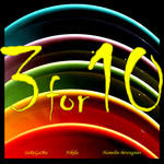 Three 4 Ten (Single) artwork