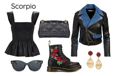 Gaya pakaian zodiak Scorpio
