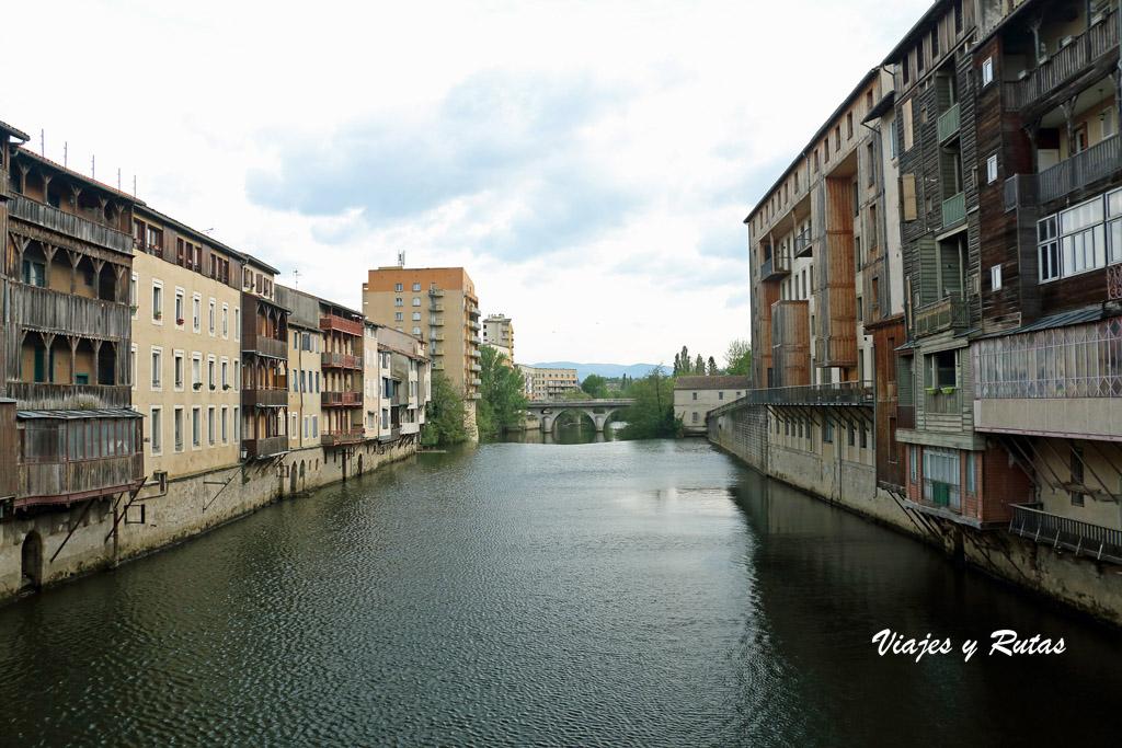 Rio Agout a su paso por Castres