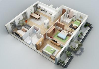 10 desain rumah minimalis satu lantai terbaik 2020