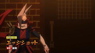 ヒロアカ   エッジショット Edgeshot   チーム・ラーカーズ   The Lurkers   僕のヒーローアカデミア アニメ   プロヒーロー   My Hero Academia   Hello Anime !