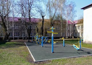 Лысовка, Покровский р-н. Центральная ул. Школа