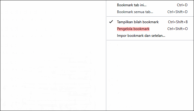 Cara Ekspor Bookmark di Google Chrome