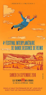 Festival Interplanétaire BD Reims 2016