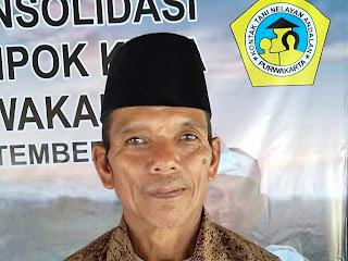 Sukardi, menangkan pemilihan Ketua KTNA Pondoksalam. Kalahkan mantan anggota DPRD