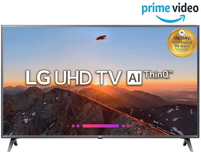 LG 108 cm (43 Inches) 4K UHD LED Smart TV