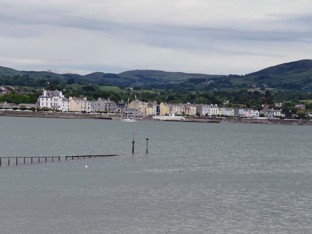 View of Warrenpoint from Omeath on Carlingford Lough