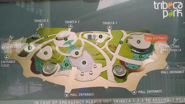 Tribeca Park Map