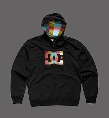 Black hoodies with designs