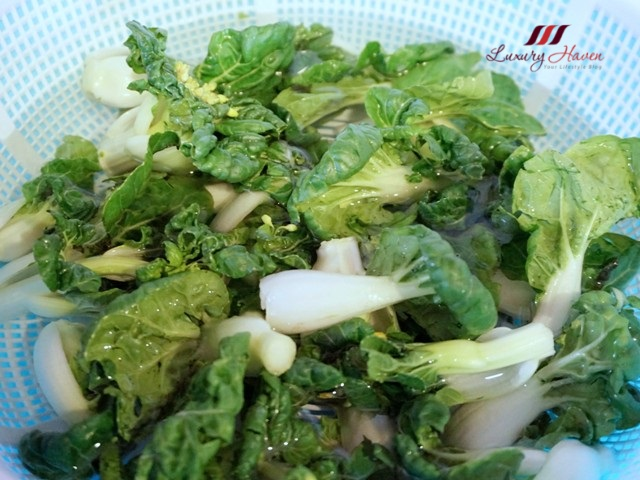 ntuc baby bok choy nai bai vegetables recipe