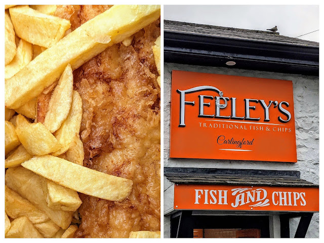 Feeley's Fish and Chips on Carlingford Lough in Ireland