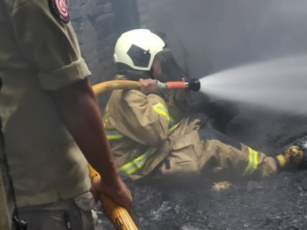 Kebakaran di Cengkareng Telah Berhasil Dipadamkan