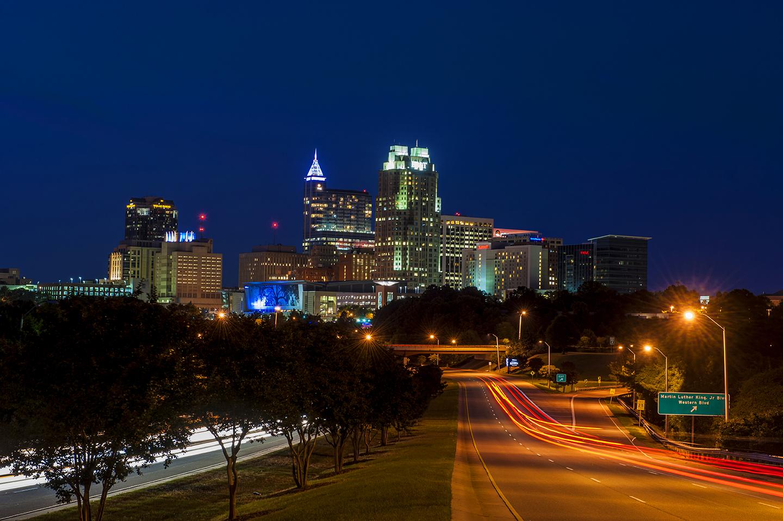 Bryan Regan Photography: Raleigh skyline photography