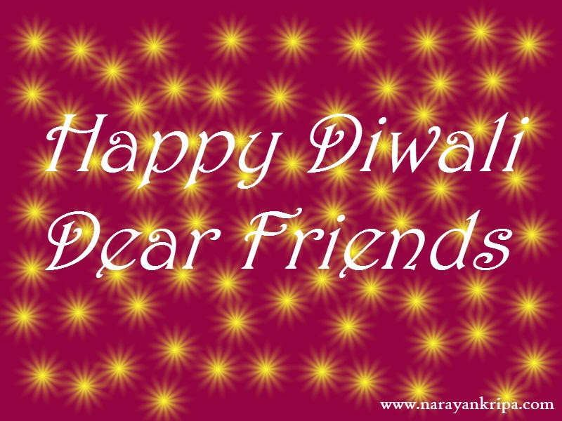 Image : Diwali Greeting Card created for Narayankripa Readers