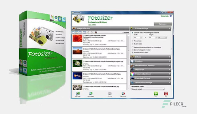 Fotosizer Professional Edition 3.11 Crack