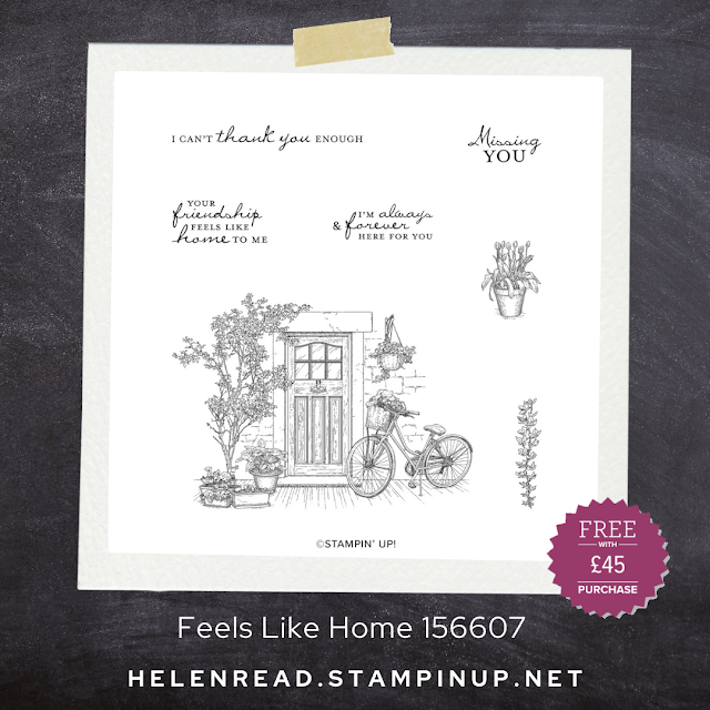 Stampin Up Feels Like Home Sale-a-Bration stamp set