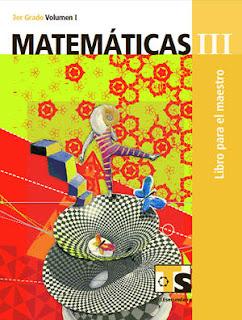 Libro de TelesecundariaMatemáticasIIITercer gradoVolumen ILibro para el Maestro2016-2017
