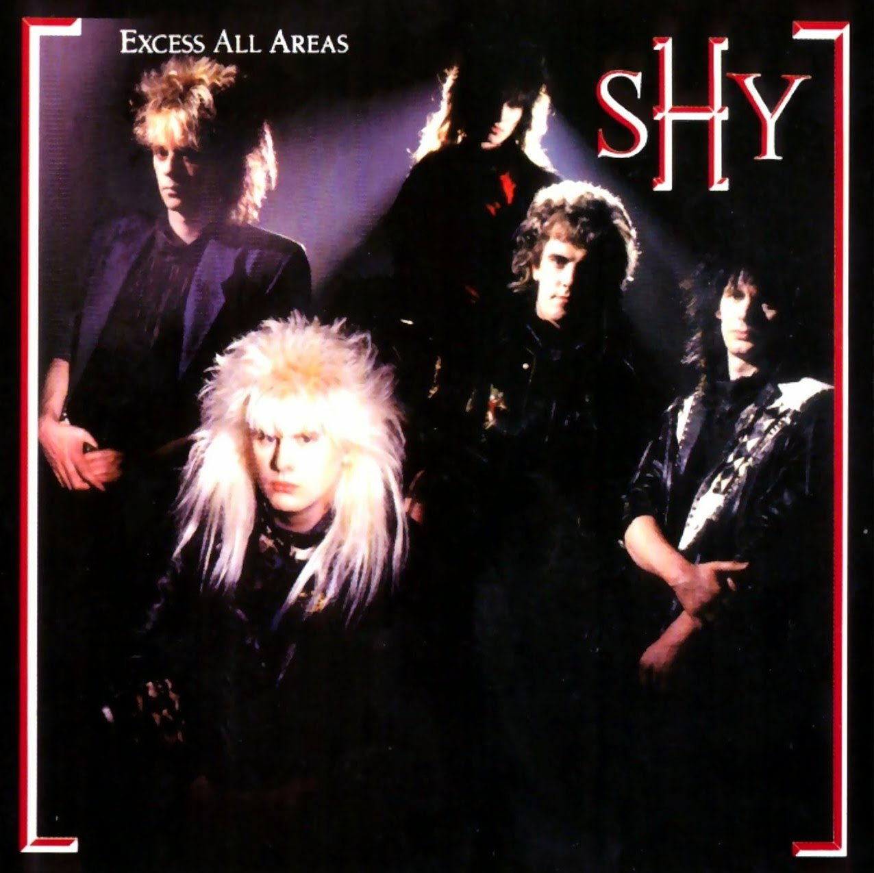 Shy Excess all areas 1987 aor melodic rock music blogspot albums bands