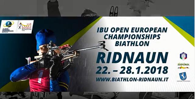 BIATLÓN - Campeonato de Europa 2018 (Ridnaun, Italia)
