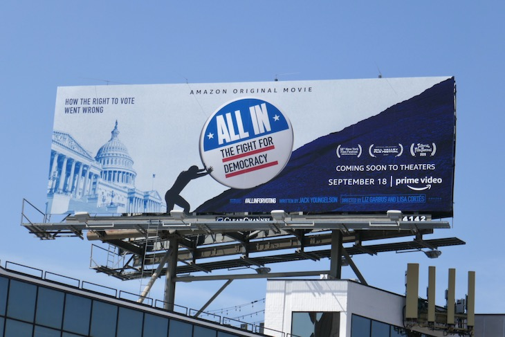 All In Fight for Democracy documentary billboard