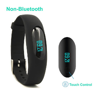 Lowest Price Fitness Tracker Watch Pedometer Bracelet Wristband £12.74 non bluetooth ,  end 14:30 Wednesday, 22 March 2017