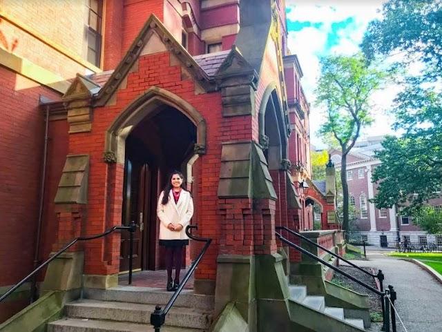 Dafne Almazán Anaya continua con su vertiginosa carrera académica en Harvard University