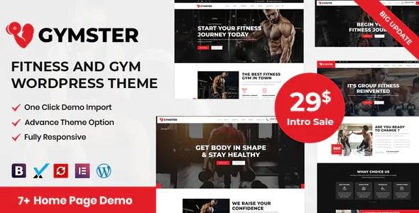 Best Fitness and Gym WordPress Theme